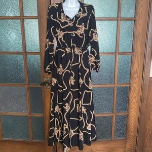 Mira & Co Beautiful Chain Dress - Made in Italy